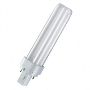 Лампа компактная G24d-3 26W/830 DULUX D OSRAM