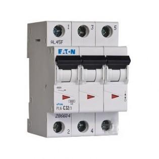 Автомат PL6-C20/3, 6kA, 3p, 20A MOELLER-EATON