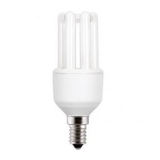 Лампа энергосберегающая 3U FLE9TBX/T3/827/E14, 9Вт, Е14, 2700К, колба Т3  General Electric