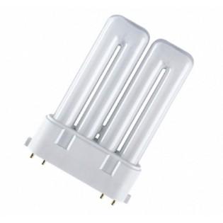 Лампа люминесцентная компактная OSRAM DULUX F - 24W/827 1700lm 2G10 2700K - 4050300333625