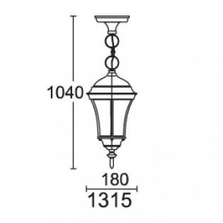Светильник парковый 1315 DALLAS І Lusterlicht