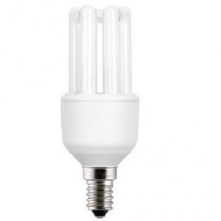 Лампа энергосберегающая 3U FLE9TBX/T3/865/E14, 9Вт, Е14, 6500К, колба Т3 General Electric