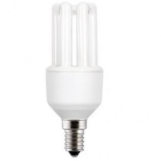 Лампа энергосберегающая 3U FLE11TBX/T3/827/E14, 11Вт, Е14, 2700К, колба Т3 General Electric