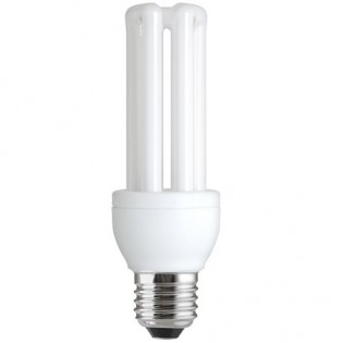 Лампа энергосберегающая 4U FLE23QBX/T3/865/E27, 23Вт, Е27, 6500К, колба Т3 General Electric