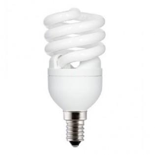 Лампа энергосберегающая FLE12HLX/T2/827/E14 screw, Е14, 12Вт, 2700К, колба Т2 General Electric