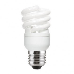 Лампа энергосберегающая FLE15HLX/T2/827/E27 screw, Е27, 15Вт, 2700К, колба Т2 General Electric