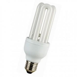 Лампа энергосберегающая 3U, E14, 2700К, 18Вт