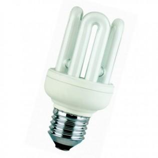 Лампа энергосберегающая 4U, E27, 6400К, 11Вт