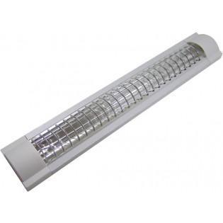 Светильник люминесцентный с рассеивающей решеткой, 2х40W