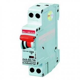 Модульный автоматический выключатель e.industrial.mcb 6кА, 1N, C, 16А E.NEXT