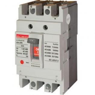 Силовой автоматический выключатель e.industrial.ukm.100S.80, 3р, 80А E.NEXT