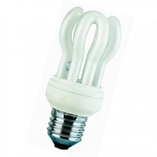 Лампа энергосберегающая flower, E14, 4200К, 7Вт