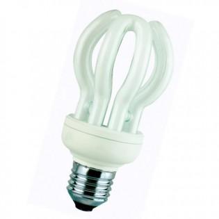 Лампа энергосберегающая flower, E14, 4200К, 15Вт