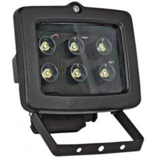 Прожектор светодиодный 6Вт, 6500К, черный E.NEXT