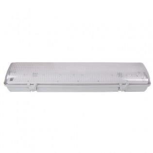 Светильник люминесцентный с прозрачным плафоном, 2х40Вт