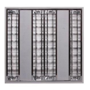Светильник люминесцентный растровый Т5 4х14W (встраиваемый)
