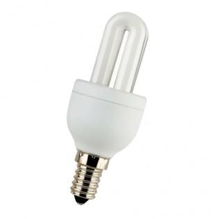 Лампа энергосберегающая 2U, E14, 4200К, 3Вт E.NEXT