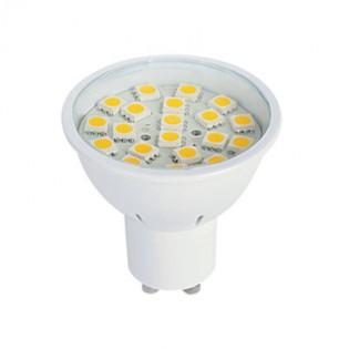 Лампа светодиодная MR16 3Вт GU10 2700К алюминиевый корпус E.NEXT