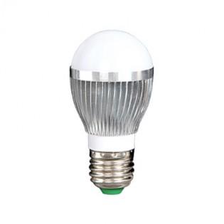 Лампа светодиодная шар G50C 3Вт Е27 4200К алюминиевый корпус E.NEXT