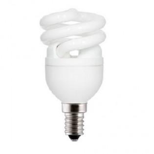 Лампа энергосберегающая FLE8HLX/T2/827/E14 screw, Е14, 8Вт, 2700К, колба Т2 General Electric