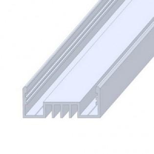 Профиль для светодиодной ленты ЛСО накладной 2м