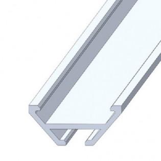 Профиль ЛСУ для светодиодной ленты угловой 2м