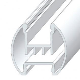Профиль ЛСК для светодиодной ленты скрытого монтажа 2м