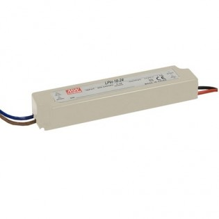 Блок питания LPV-60-24 60W 24V DC IP67 Mean Well