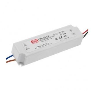 Блок питания LPV-35-12 35W 12V DC IP67 Mean Well