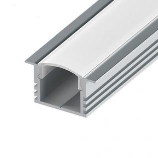 Профиль для светодиодной ленты ЛПВ-12 врезной 2м
