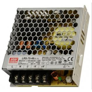 Блок питания LRS-75-48 75W 48V DC IP20 Mean Well