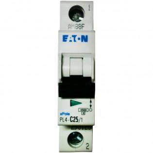 Автомат PL4-C25/1, 4.5kA, 1p, 25A MOELLER-EATON
