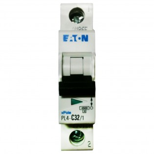 Автомат PL4-C63/1, 4.5kA, 1p, 63A MOELLER-EATON