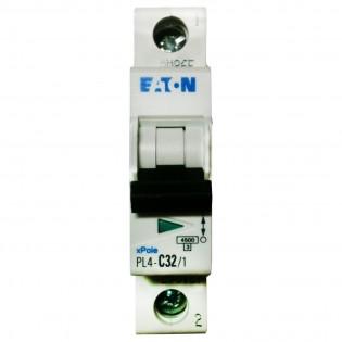 Автомат PL6-C40/1, 6kA, 1p, 40A MOELLER-EATON