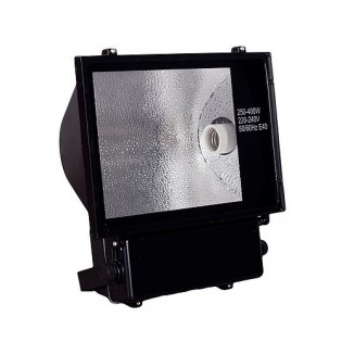 Прожектор натриевый 400Вт, Regent ЖО 400W Е40, черный