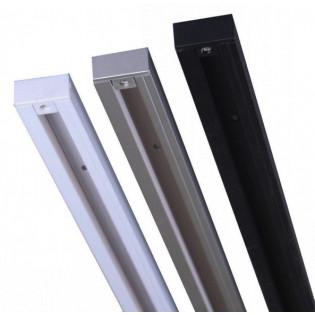 Токоведущий шинопровод 1м 1-фазный (белый, серый, черный) HOROZ Electric