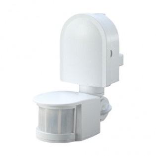 Датчик движения инфракрасный белый e.sensor.pir.10F.white s061004 E.NEXT