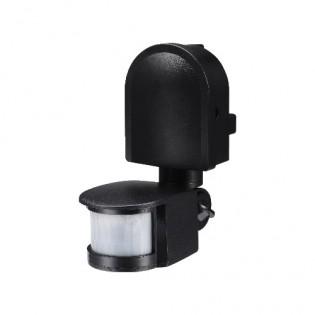 Датчик движения инфракрасный черный e.sensor.pir.10F.black s061005 E.NEXT