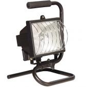 Прожектор галогеновый переносной 500Вт Eliot ZW3-L500P-B (00620) Kanlux (Польша)