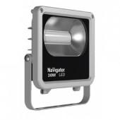 Прожектор светодиодный пылевлагозащищенный NFL-M-10-4K-IP65-LED 600lm 30000h серый 71312 Navigator