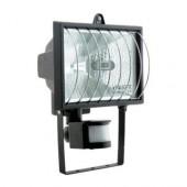 Прожектор под галогенную лампу с датчиком движения, 500Вт, черный (3000140) VITO
