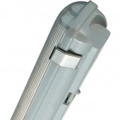 Светильник влагонепроницаемый - OSRAM NEPTUNE T5 POLY GR 2X49W 220-240V серый - 4008321660022