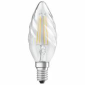 Лампа светодиодная свеча LS CL BW 40 4W/827 230V FIL E14 OSRAM - 4058075055391