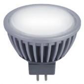 Лампа светодиодная LED-MR16-5W-N-G5,3 4100K алюминиевый корпус ULTRALIGHT