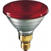 Лампа накаливания инфракрасная - Philips PAR38 IR E27 230V красная 175W - 923801444210