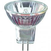 Лампа галогенная с отражателем - Philips Brilliantline Dichroic MR11 GU4 Прозрачная 12V 20W 690cd 30° - 924051317107