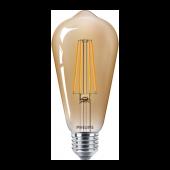 Лампа светодиодная LEDClassic 5.5-48W ST64 E27 825CL_GNDAPR Philips - 929001941808