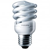 Лампа энергосберегающая витая - Philips Tornado T2 8y 12W WW E27 220-240V CT/12 741lm - 929689868506