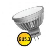 Лампа светодиодная - Navigator NLL-MR16 5W 12V 3000K GU5.3 94262