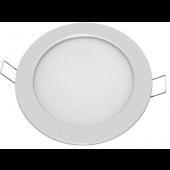 Светильник светодиодный встраиваемый ультратонкий NLP-R1-10W-R180-840-SL-LED 700lm 40000h серебро 94347 Navigator